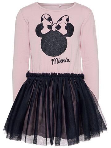 Minnie Maus узор платье