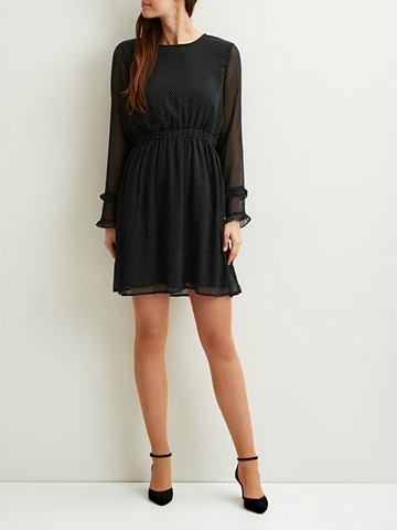 VILA Пятнистый платье с длинa рукавами
