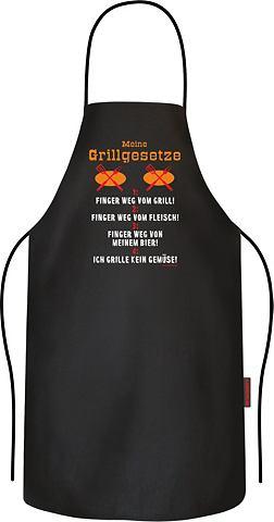 Grillschürze с lustigen Grillgese...