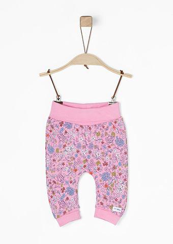 Для бега брюки с c цветочным узором дл...