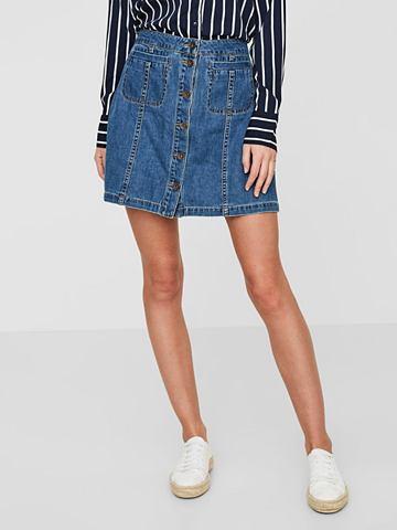 VERO MODA NW юбка джинсовая