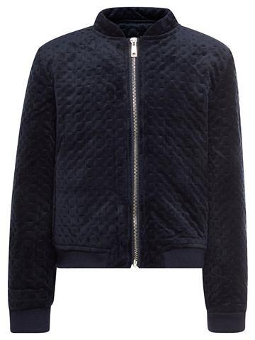 Velours-Bomber куртка