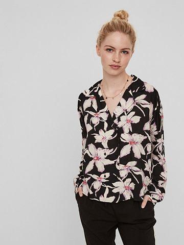 VERO MODA Цветы рубашка