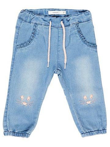 Stickerei- джинсы