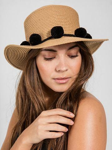 PIECES Stroh шляпа