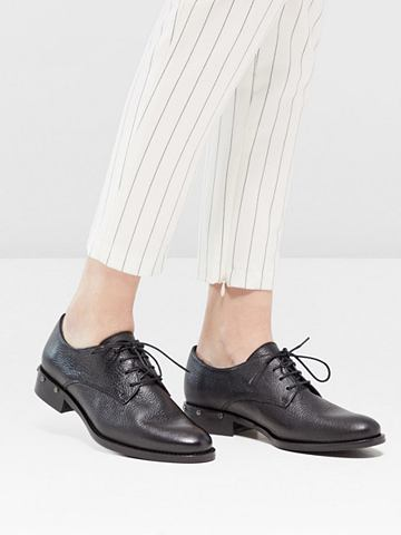 BIANCO Nieten-Effekt- Derby-Schuhe