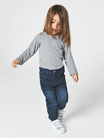 Прямого силуэтa джинсы