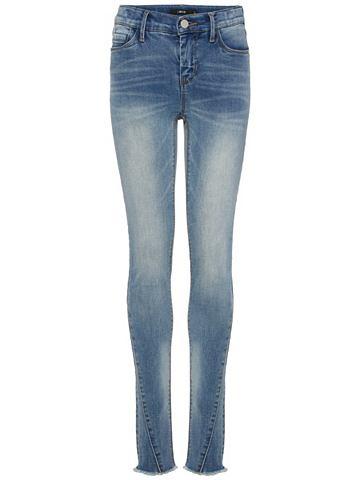 Ausgefranste облегающий форма джинсы д...