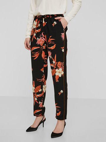 Цветы брюки