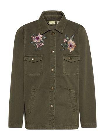 Вышитый Baumwoll куртка