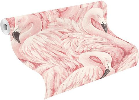 Tapete »Lucy в the Sky Flamingo&...