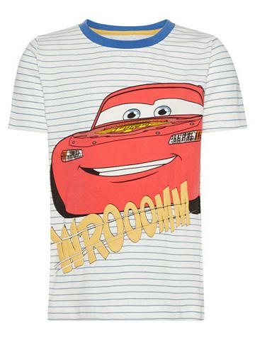 Cars узор футболка