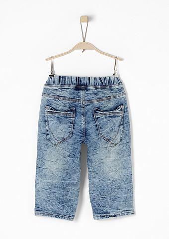 Seattle: шорты с имитация тертый ткани...