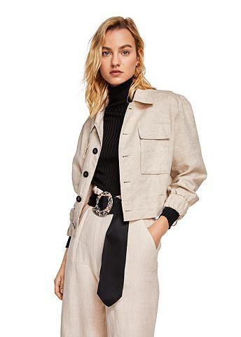 Куртка льняная с карман