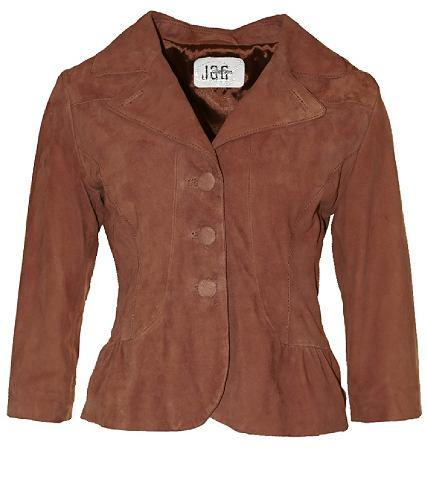 JCC Пиджак кожаный с красивый воротник &ra...