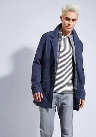 Модный пальто короткое с Westeneffekt