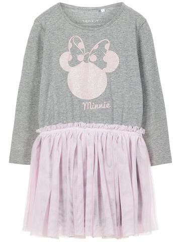 NAME IT Minnie Maus узор платье