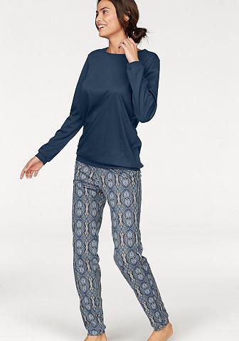 Пижама с утонченный Paisley