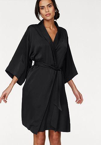 TRIUMPH Кимоно халат из атлас с пояс