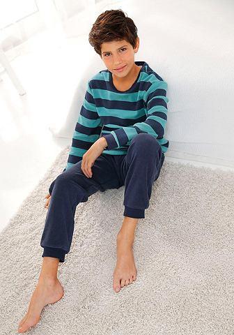 Jungen махровая пижама с манжет