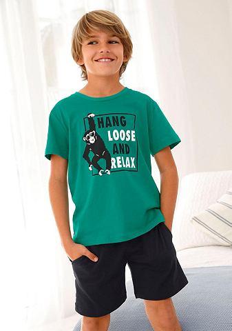Jungen пижама с Affen узор