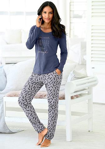 Длиный брюки с эластичный Hosenbeinabs...