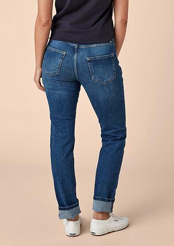 Curvy Зауженные эластичный джинсы