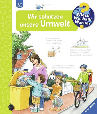 RAVENSBURGER Детская книга »Wir schützen...