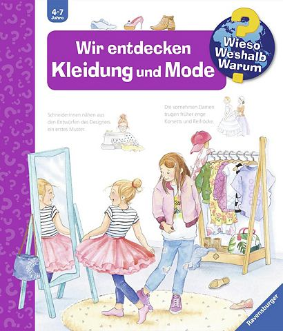 RAVENSBURGER Детская книга »Wir entdecken Kle...