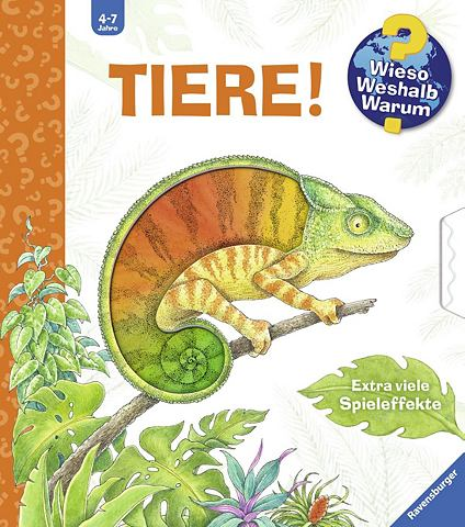 RAVENSBURGER Детская книга »Tiere! / Wieso? W...