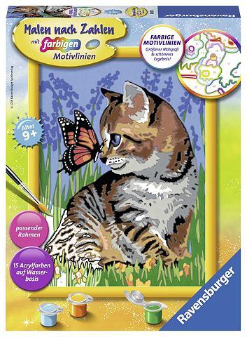 Рисовать nach Zahlen »Katze с Sc...