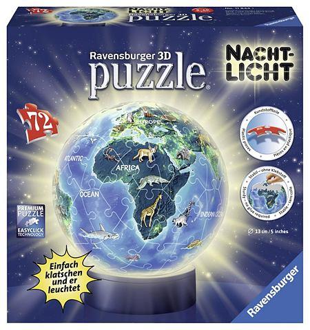 """3D-Puzzle """"Nachtlicht Erde bei Na..."""