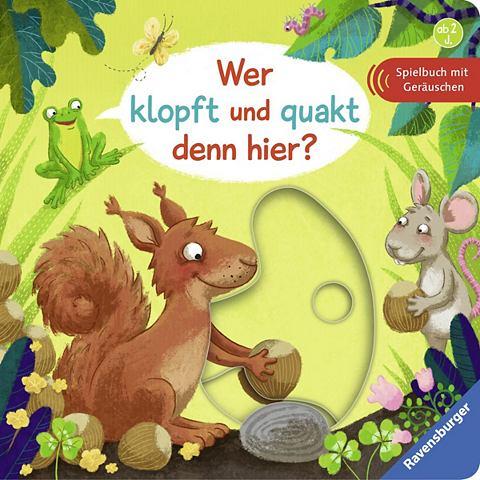 Bilderbuch »Wer klopft и quakt d...