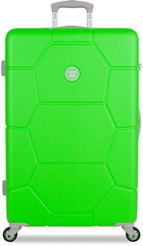 SUITSUIT ® Пластиковый чемодан на колесах с...