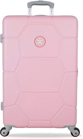 """SUITSUIT Пластиковый чемодан на колесах """"C..."""
