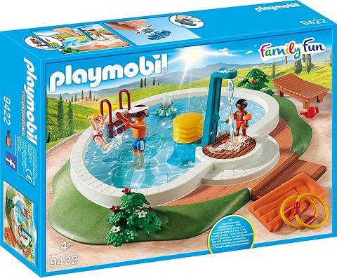 PLAYMOBIL ® Swimmingpool (9422) »Famil...