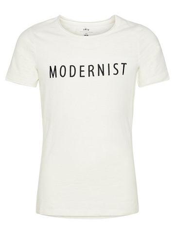 NAME IT Вышитый футболка