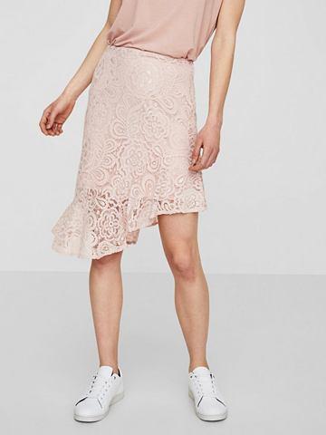 VERO MODA HW Spitzen юбка