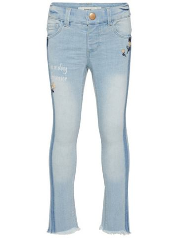 Polly облегающий форма джинсы