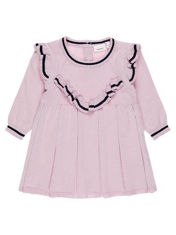 Вязаный платье