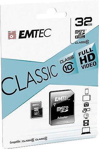 Micro SDHC 32GB Class 10 Classic с SD-...