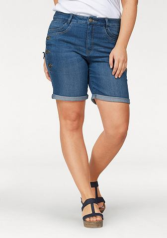 ARIZONA Бермуды джинсовые »mit trendiger...