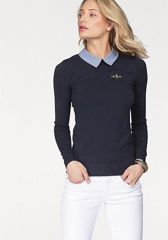 Tom Tailor футболка поло Team пуловер