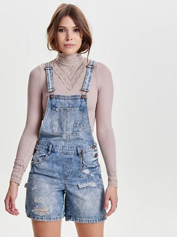 ONLY Джинсовый брюки с подтяжками