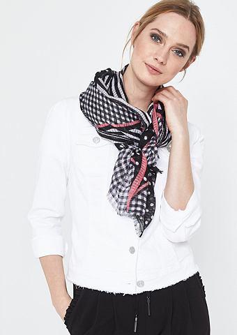 Asymmetrisch пошив шарф в сочетание уз...