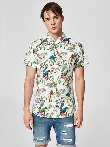 Узор рубашка с короткими рукавами