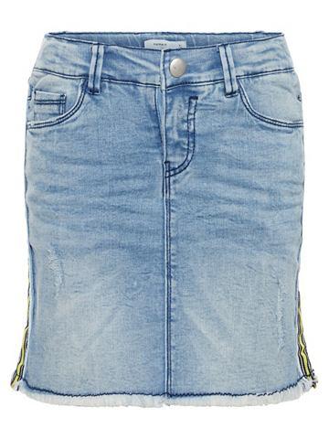 Облегающий форма Super-Stretch юбка дж...