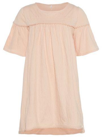 NAME IT Strukturiertes A-формы платье