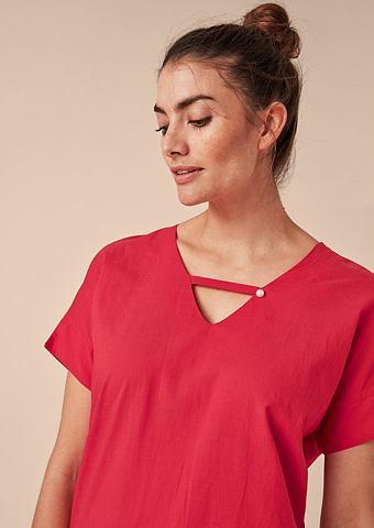 Блузка-рубашка из Batiste