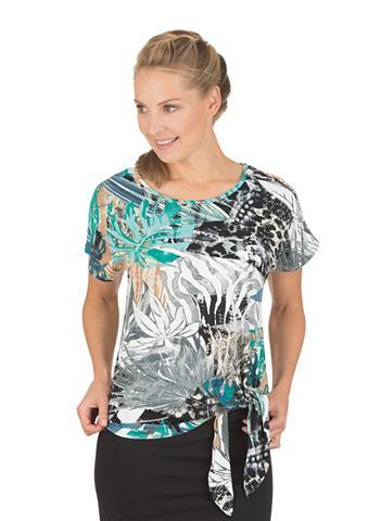 Вискоза футболка с Bindeknoten